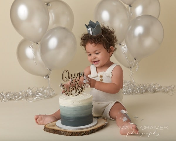 Matt Cramer Photography first birthday photo