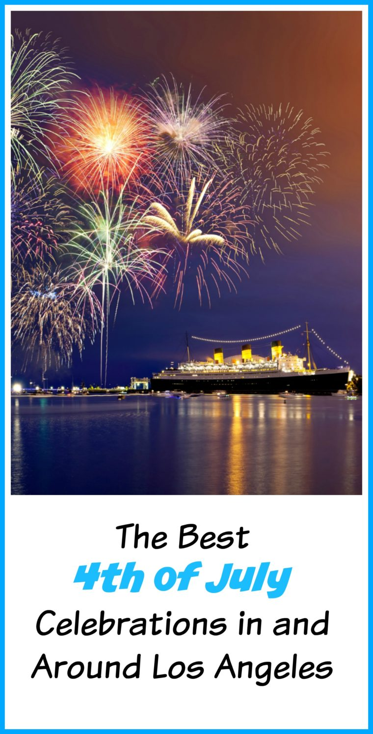 There are so many great places in and around Los Angeles to see fireworks. From Downtown LA to Disneyland to the Queen Mary, you'll find something fun to do to celebrate Independence Day. #4thofjuly #losangeles #thingstodoinla #Southerncalifornia #california