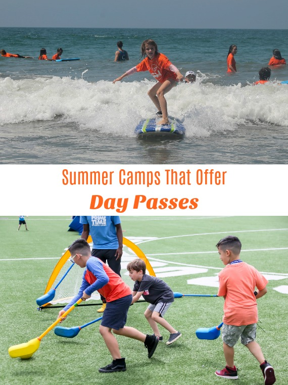 There are so many camps in Los Angeles that offer day passes in Los Angeles! #summercamp #losangelessummer