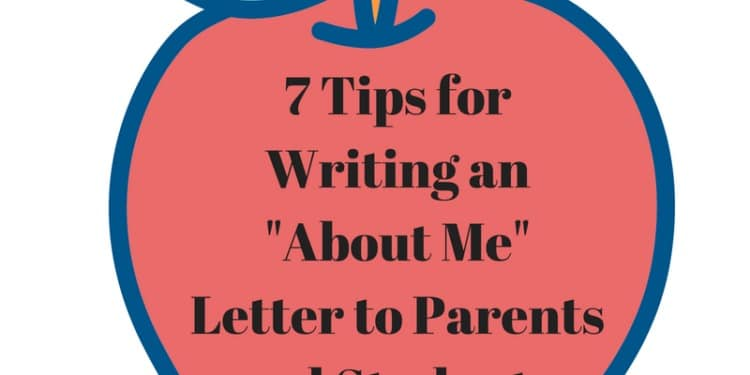 "One of the many forms that teachers send home on the first day of school is an ""About Me"" letter. This introductory letter serves as a way for the teacher to introduce him/herself to a new class of students and their families. In a way, this letter serves as a first impression, and first impressions need to be good. So, how do you craft such a letter? Here are our tips to writing an effective, engaging ""About Me"" for your class. #backtoschool #teachers #backtoschoolforteachers #teacherresources"