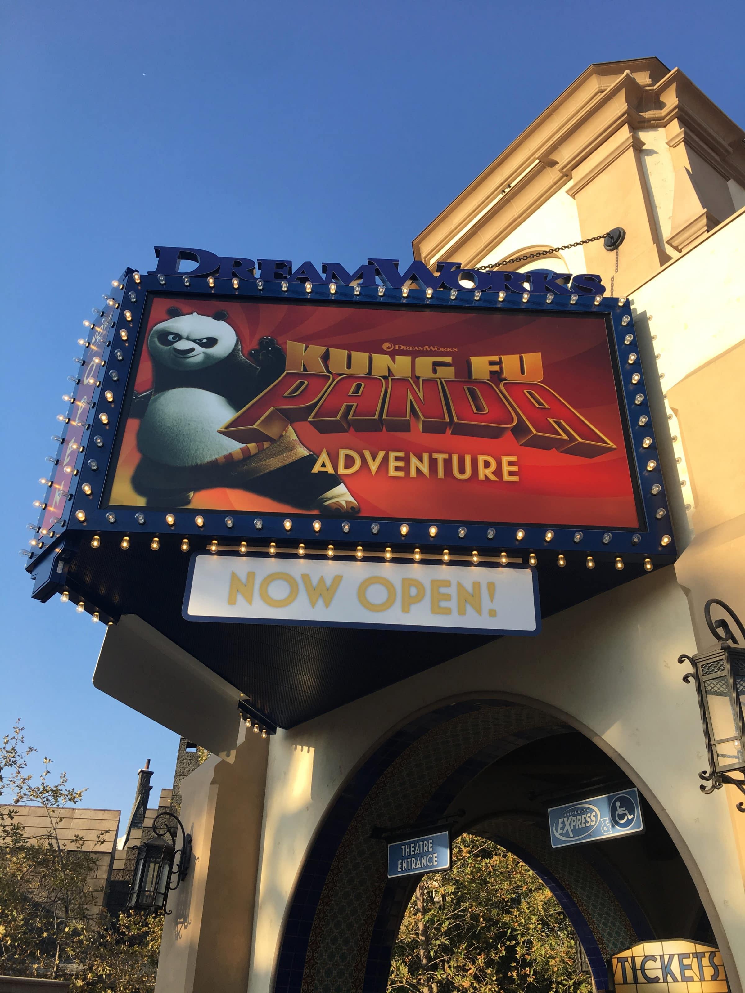 Kung Fu Panda at Dreamworks Theater at Universal Studios Hollywood