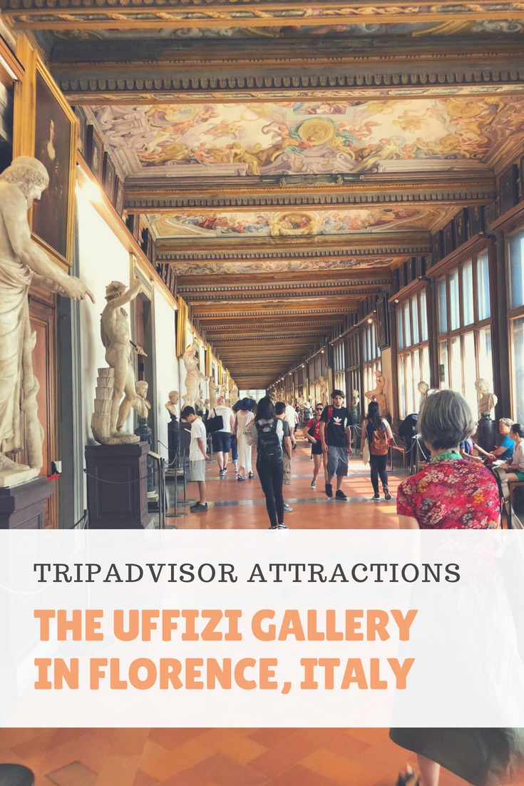 "The Uffizi Gallery in Florence, Italy is full of incredible works of art. As part of the Trip Advisor Influencer Program we booked a ""Front of the Line Guided Tour"" with Trip Advisor Attractions. We learned so much that we wouldn't have touring the gallery on our own. #italy #familytravel #familyvacation #vacationtoitaly #uffizi #florence #italyvacation"