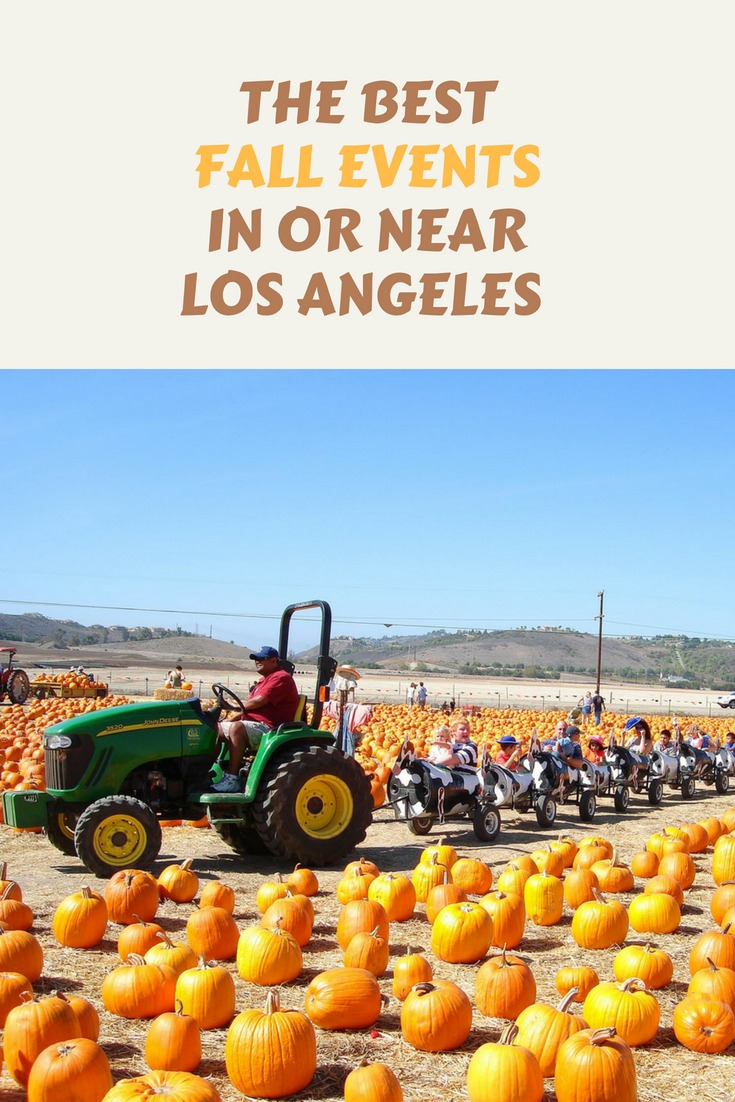 Los Angeles may not have traditional seasons, but you'll find so many fun things to do with kids in the fall! From apple picking to tractor rides to halloween fun at the zoo. #losangeles #fallinlosangeles #fallinsotherncalfornia #southerncalifornia #familytravel