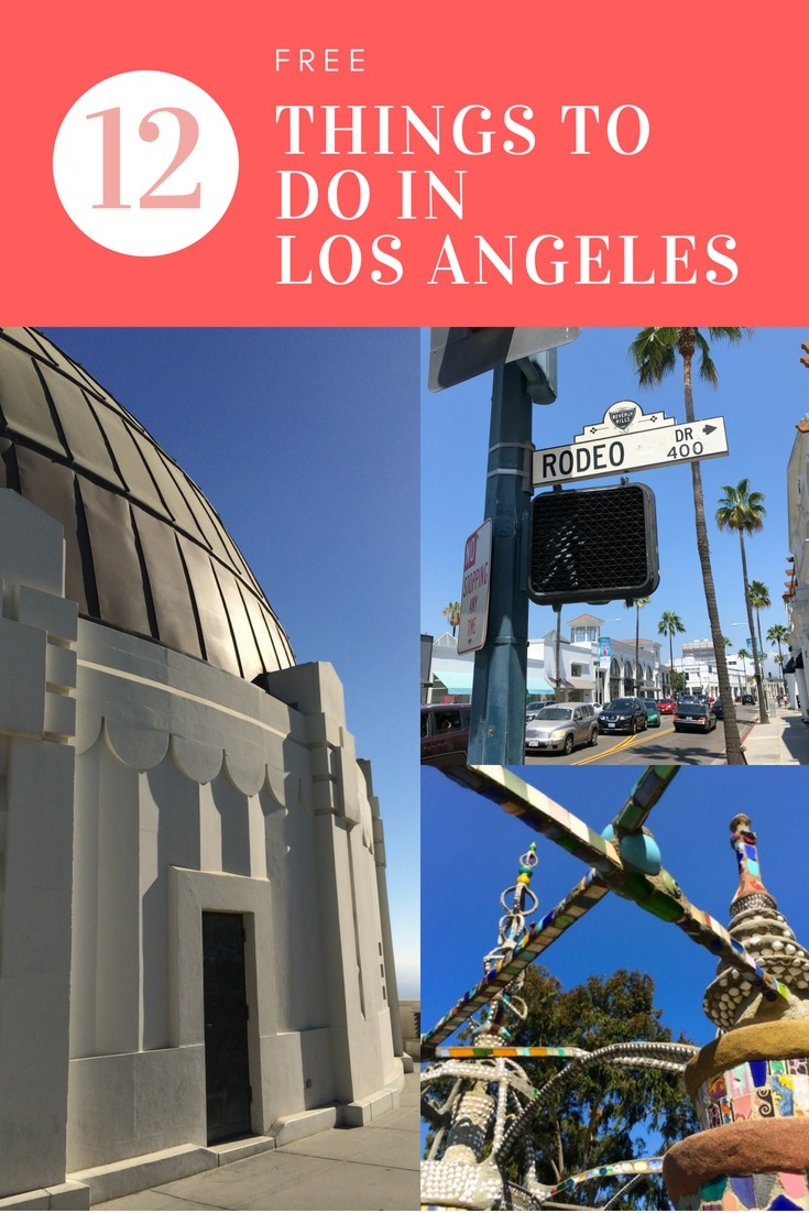 12 amazing free things to do in Los Angeles with kids - from Watts Towers to the Griffith Observatory to the shopping at the Original Farmers Market, you'll find something your family will love.