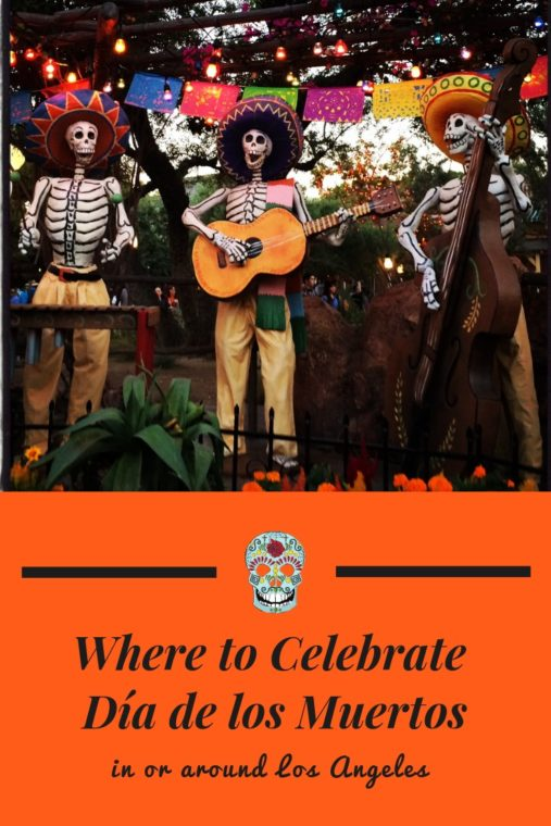 There are great places to celebrate Día de los Muertos in Los Angeles. #losangeles #diadelosmuertos #muertos #muertoslosangeles