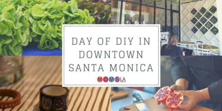We had a Day of DIY in Downtown Santa Monica. We shopped at the Farmers Market, cooked a wonderful meal, made crafts and ate delicious food. #santamonica #dtsm #downtownsantamonica #southerncalifornia #familytravel #california