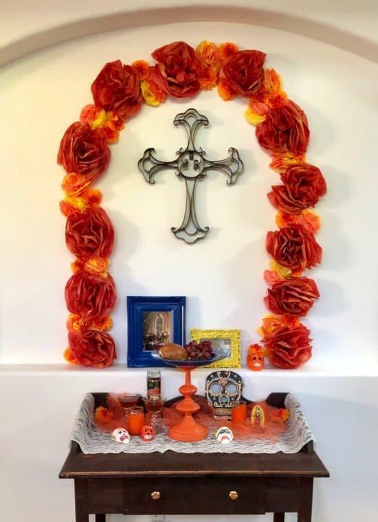 How to make an altar for Día de los Muertos. #diadelosmuertos #altar #