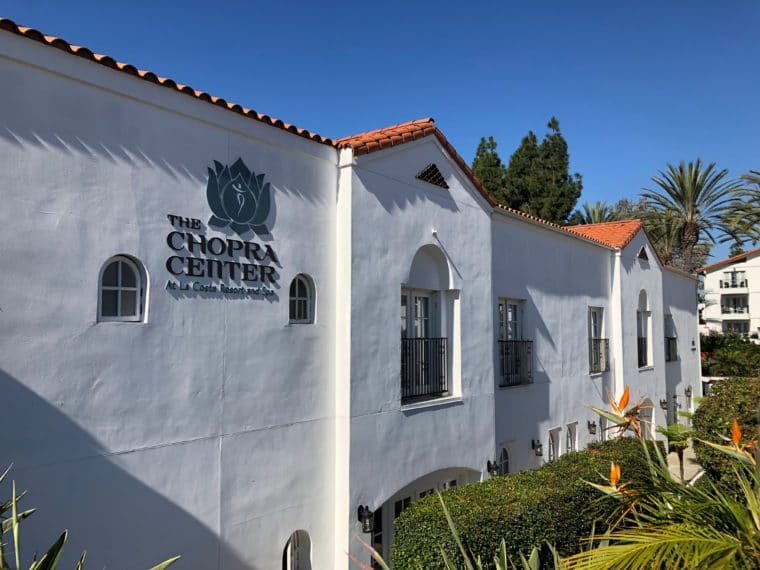The Chopra Center at the Omni La Costa is a spiritual retreat that attracts guests from all over the world. #carlsbad #chopracenter #california #spiritualtravel