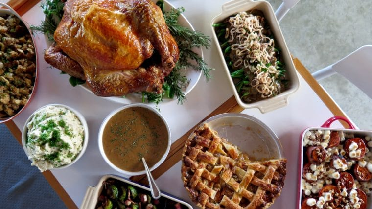 Superba is one of the great places in Los Angeles to get Thanksgiving Takeout. #thanksgiving #losangeles