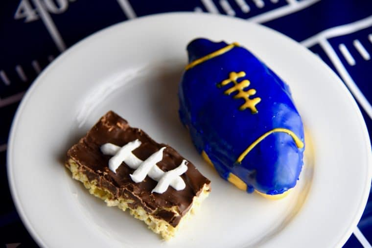 Primo's Donuts is making special LA Rams donuts. #donuts #football food #larams