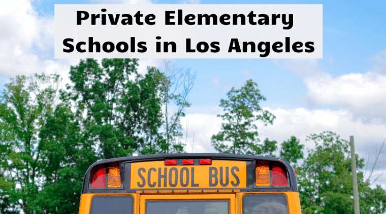 Private Elemetary Schools in Los Angeles