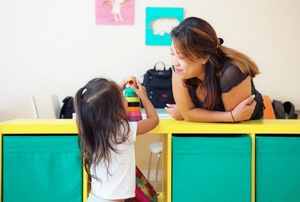 The Nook play space for kids 0-6 is one of the great things to do in Chino with Kids. #chino #southerncalifornia #losangeles #thingstodoinla