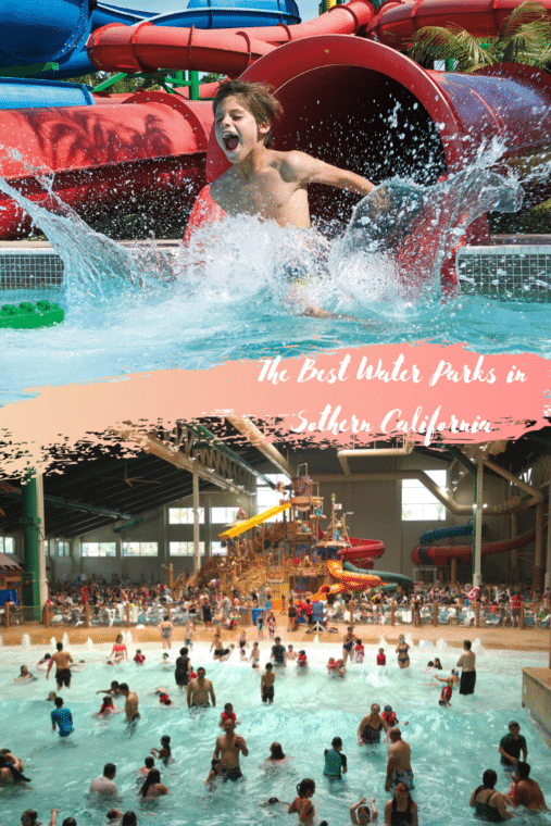 The best water parks in Southern California. #waterparks #southerncalifornia #familytravel