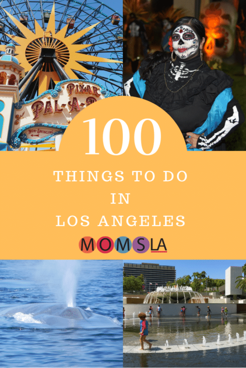 You'll find so many great things to do in Los Angeles with kids it was difficult to choose just 100. From the LA Zoo to the beach to the Walt Disney Concert Hall, you won't run out of fun in LA. #losangeles