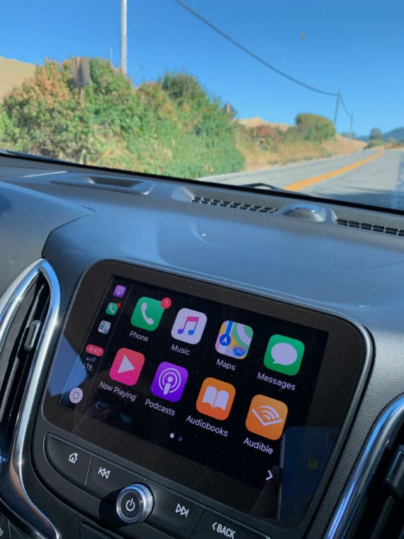 Apple play in the chevy equinox