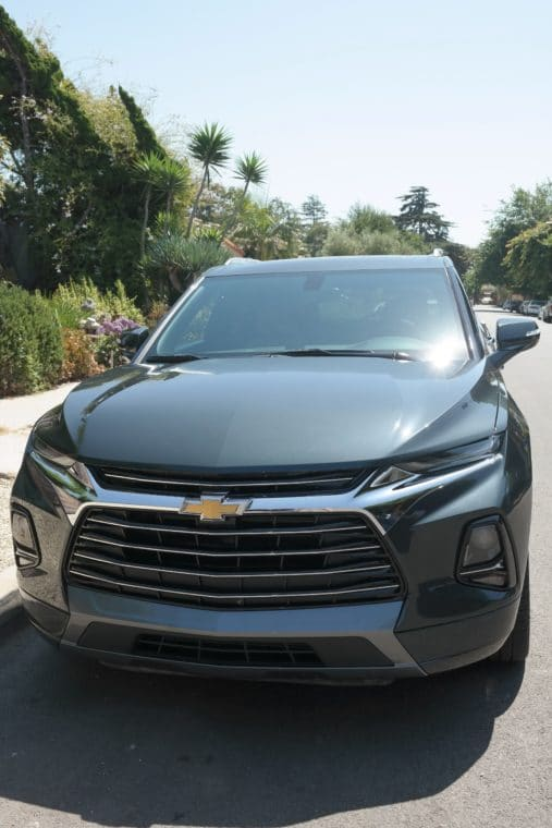 2019 Chevy Blazer from the front