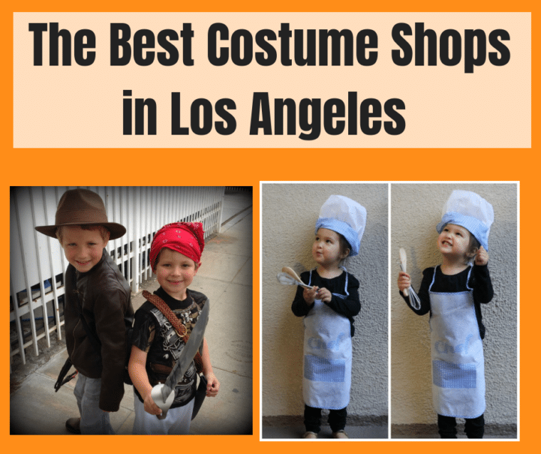 best costume shops in los angeles with kids dressed up in costume