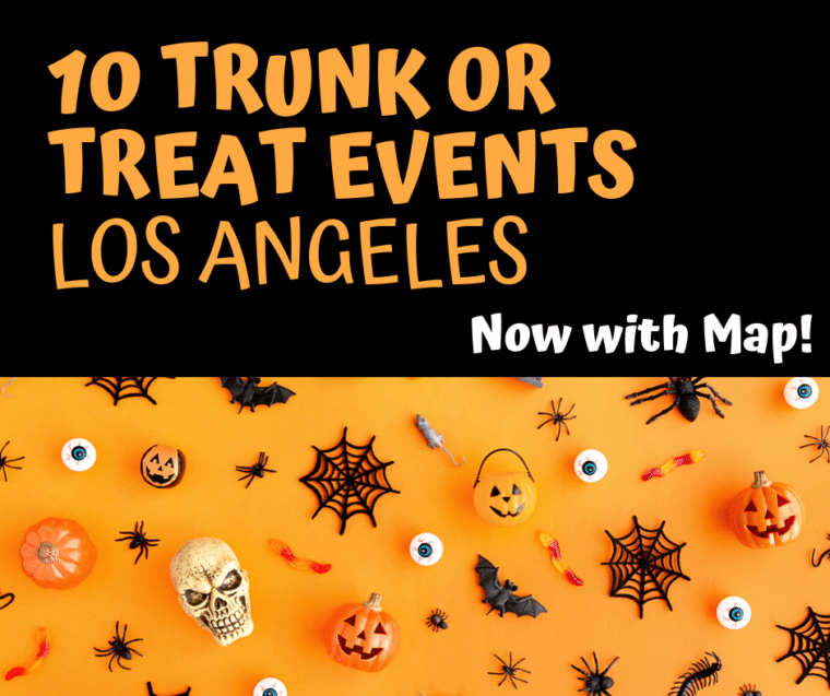 10 trunk or treat events in los Angeles