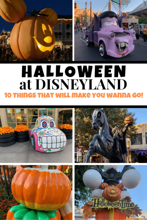Halloween at Disneyland Pin image