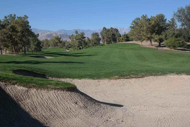 golf course at Indian Wells