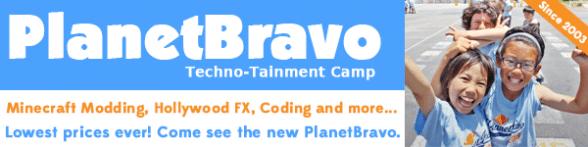 planetbravo summer camp banner ad 2020