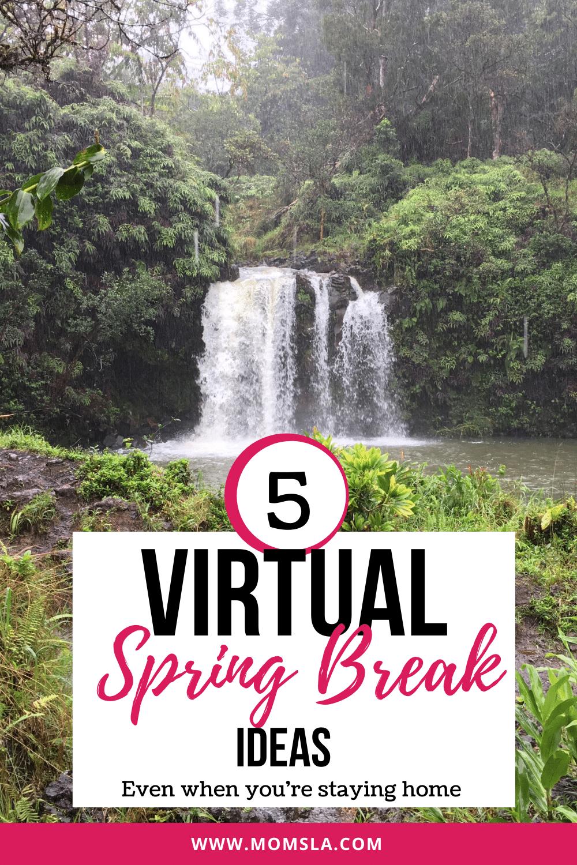 virtual spring break ideas