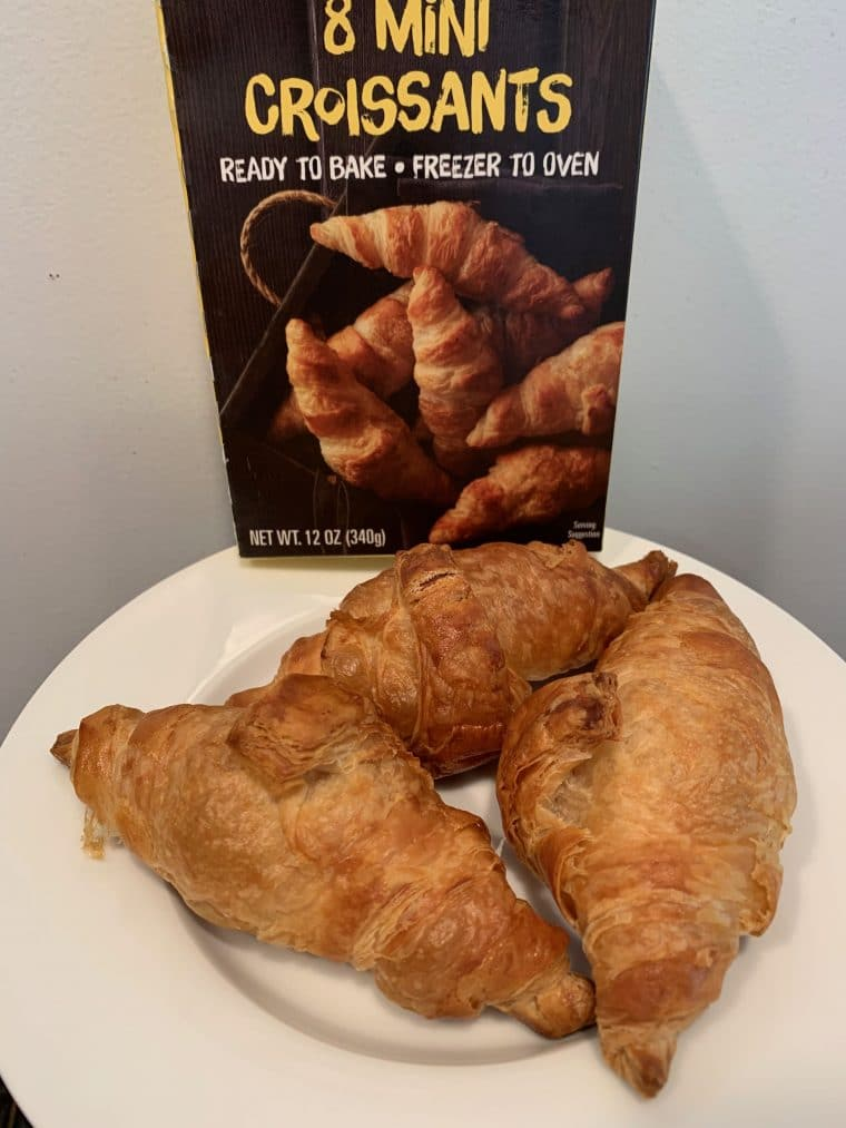 croissants from Trader Joe's