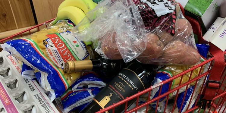 grocery shopping in los angeles
