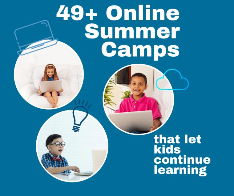 49 online summer camps 2020