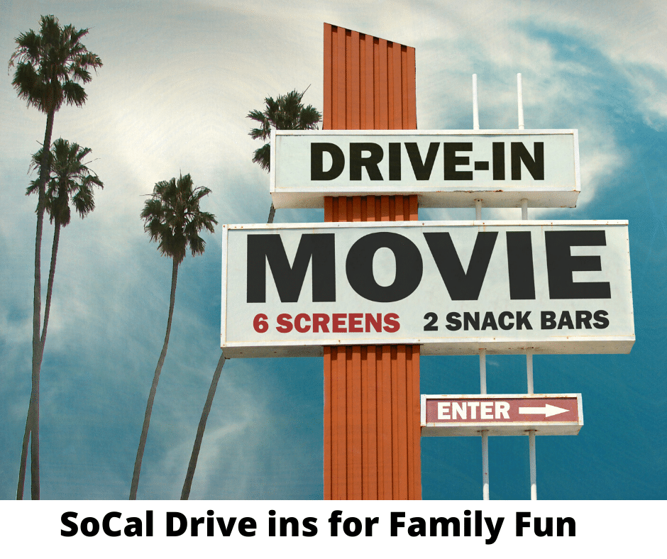 Drive in Movies in SoCal