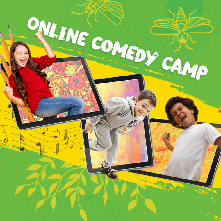 Second City online comedy camp