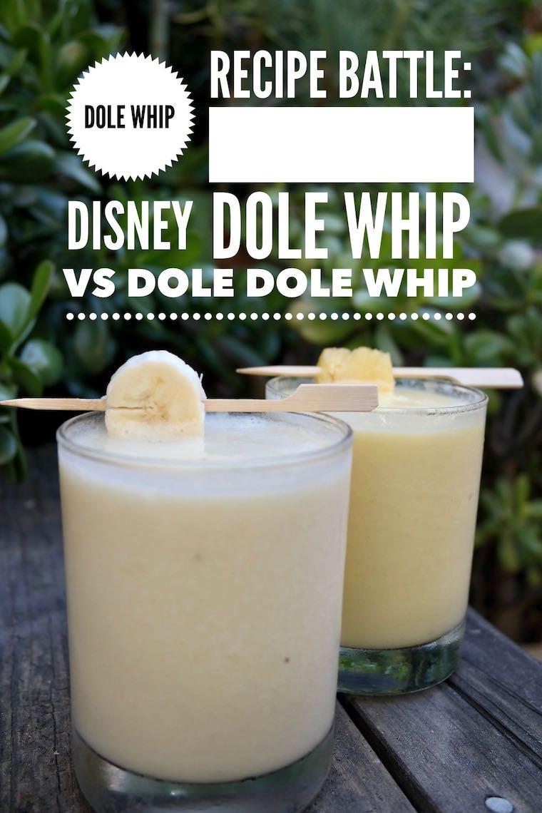 dole whip recipe battle disney dole whip vs dole dole whip