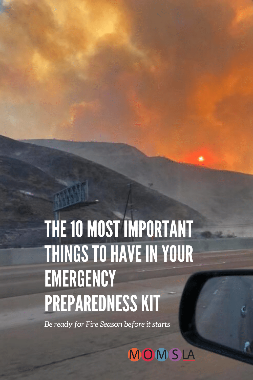 skirball fire 2018 emergency preparedness kit be ready for fire season
