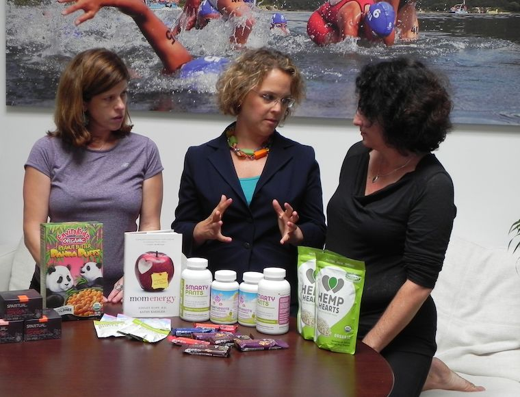 Yvonne Condes, Ashley Koff and Sarah Auerswald talk about the weight loss program