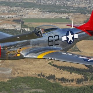 P-51-Bunny-in-the-sky-from-Palm-Springs-air-museum