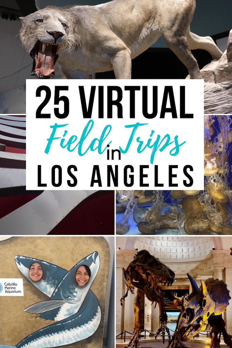 virtual field trips in los angeles