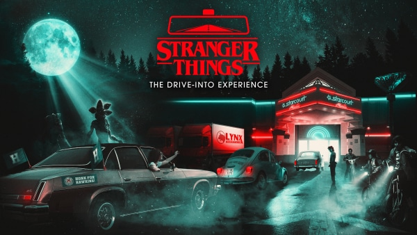 stranger things the drive into experience