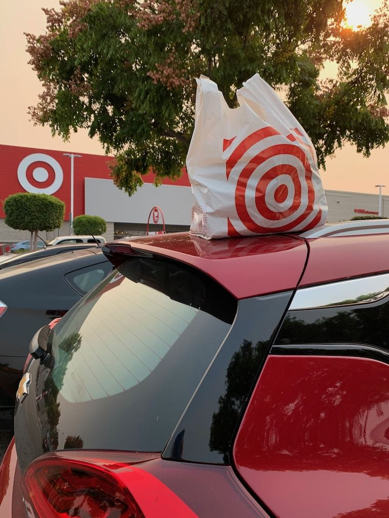 making a return at Target in the Chevy Bolt EV
