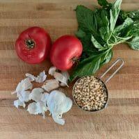 no oil pesto ingredients