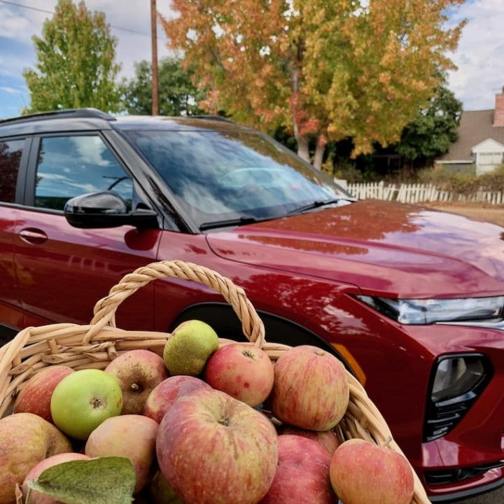 Chevy-Trailblazer-and-basket-of-apples-1
