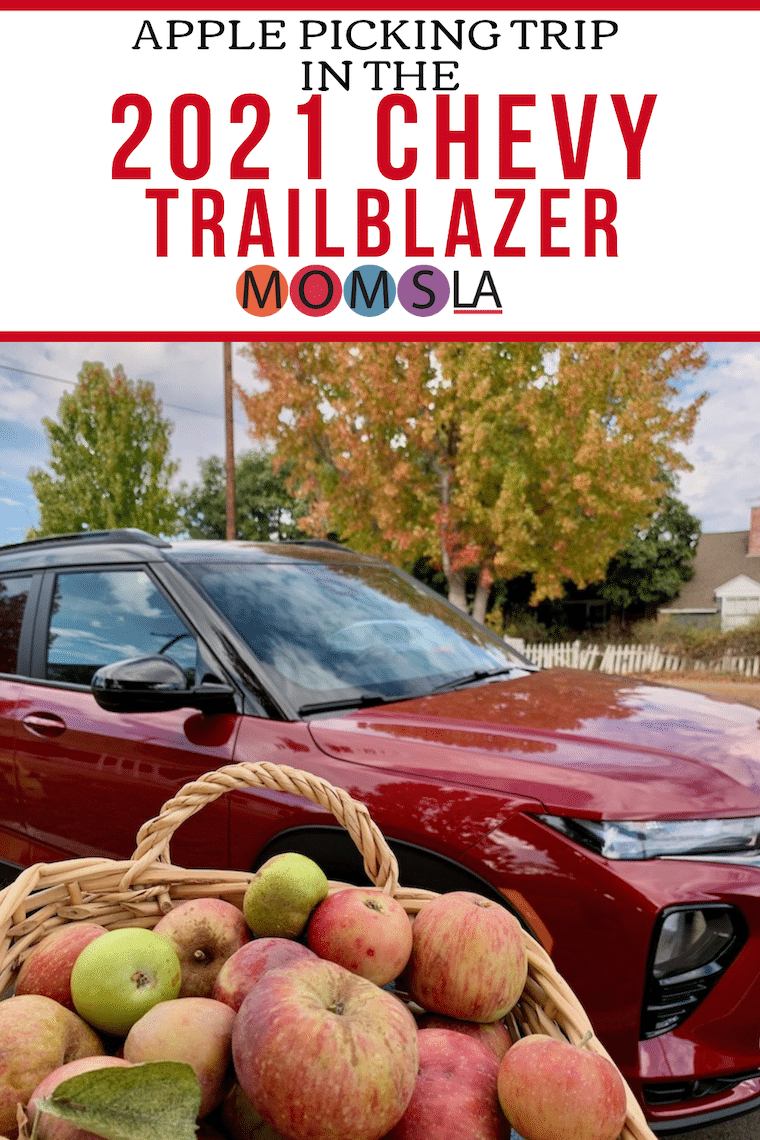 apple picking with the Chevy Trailblazer
