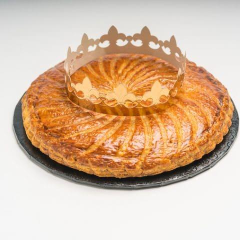 king cake from Porto's bakery