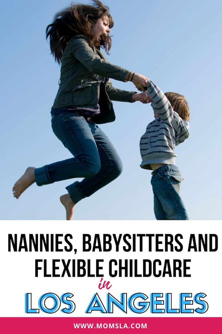 nanny agencies and babysitting apps in Los Angeles