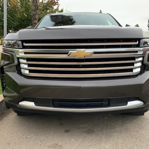 Suburban-front-grille-showing-chevy-logo