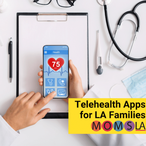 telehealth apps for LA families