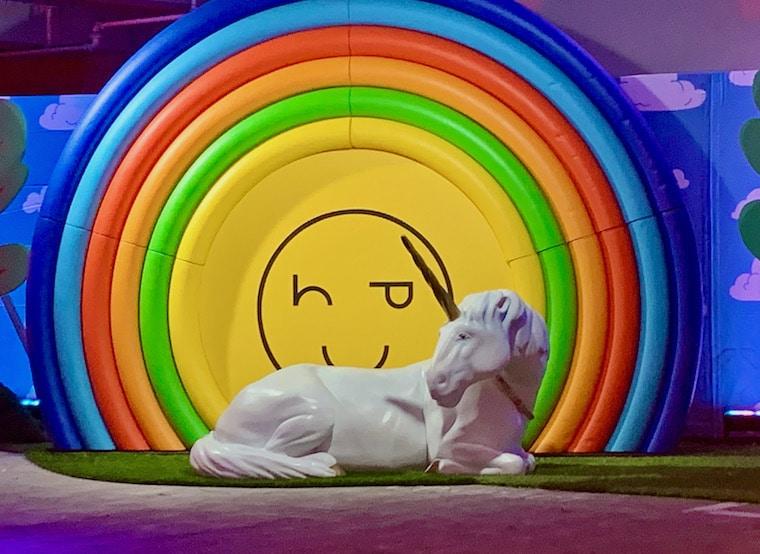 Happy Place rainbow unicorn