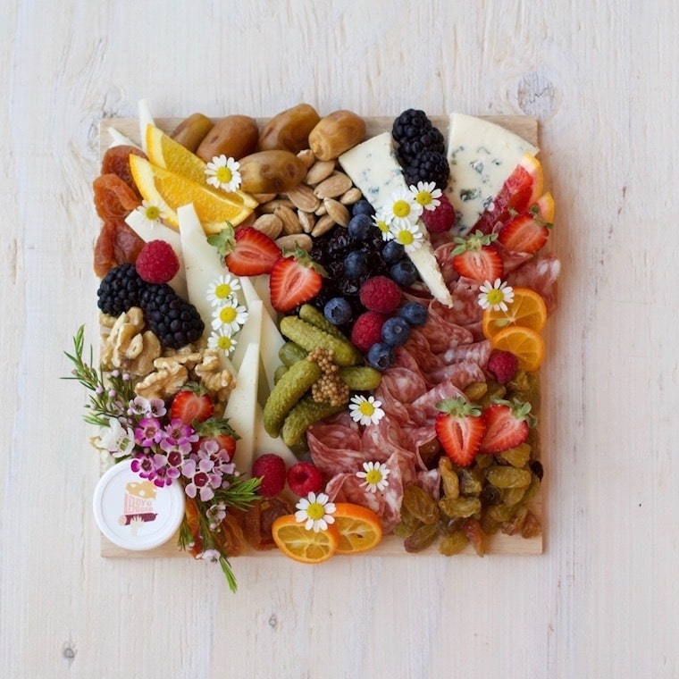 The Date Night Charcuterie Board from Lady and Larder
