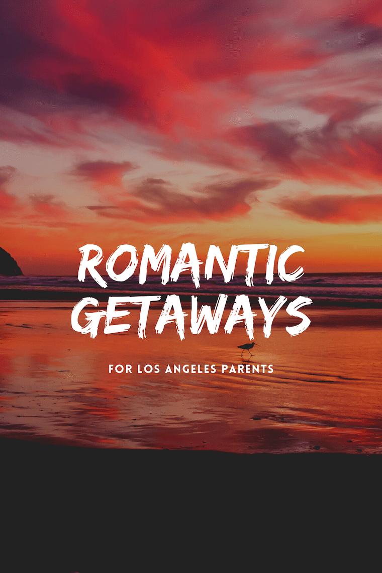 romantic getaways sunset on the beach