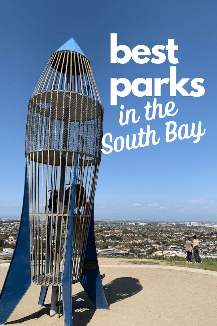 rocket play structure at south bay park: text best parks in the south bay