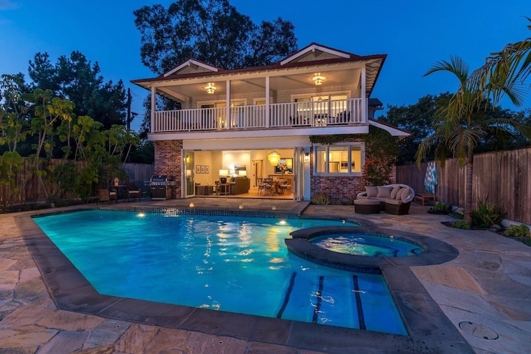 ocean front home with pool vrbo in Santa Barbara